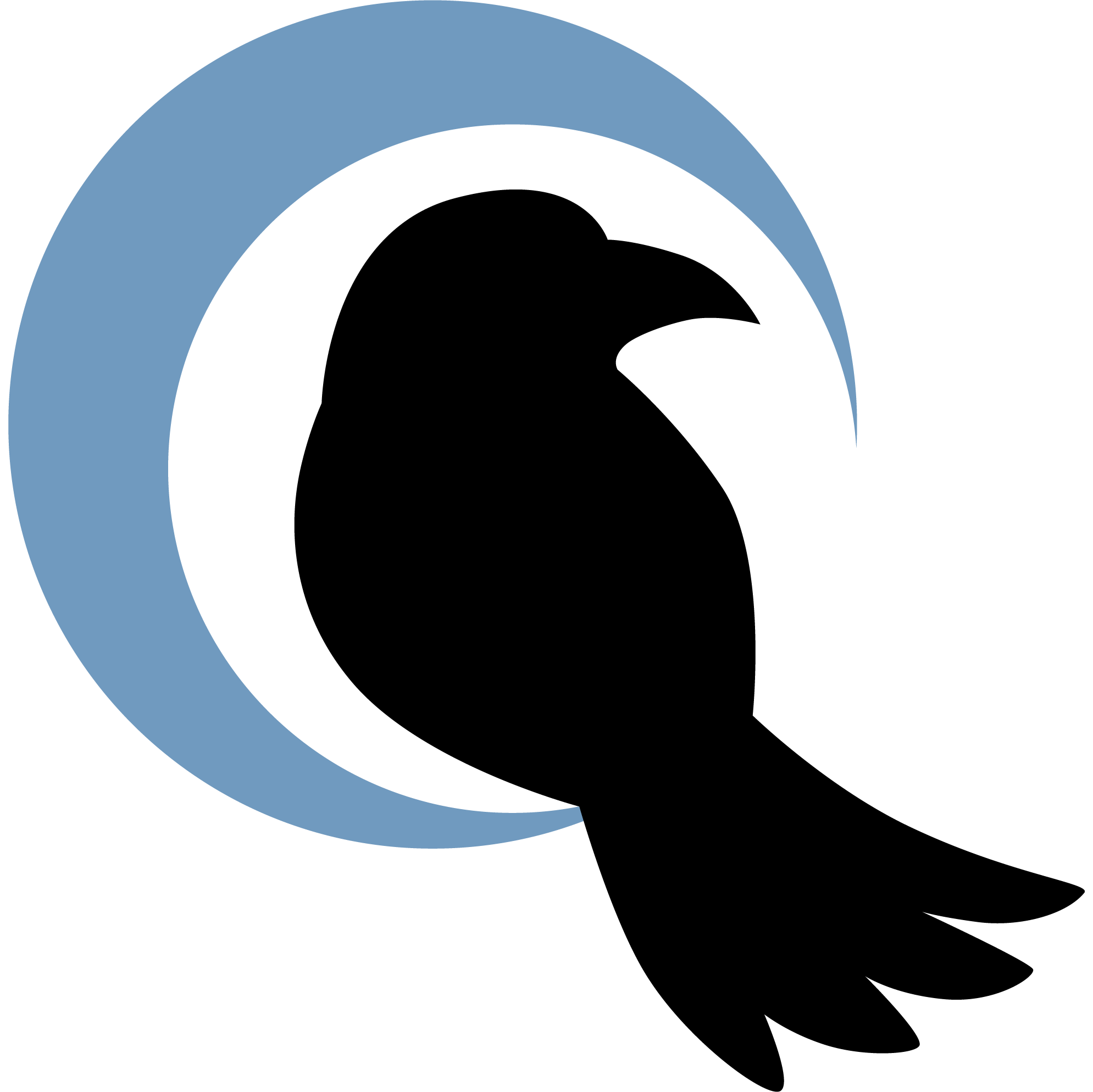 Crow in the Rain Favicon
